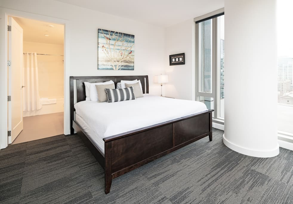 Bedroom at Park Avenue West by Stay Alfred