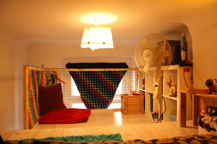 Kinder-/2. Schlafzimmer oben