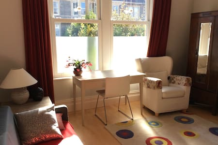 Large room with single bed in Victorian house - Bristol - Hus