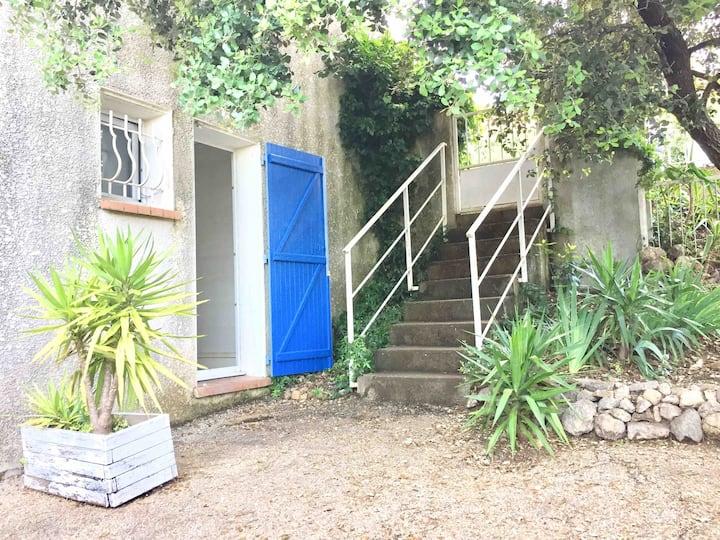 Grand studio indépendant terrasse 15' Montpellier