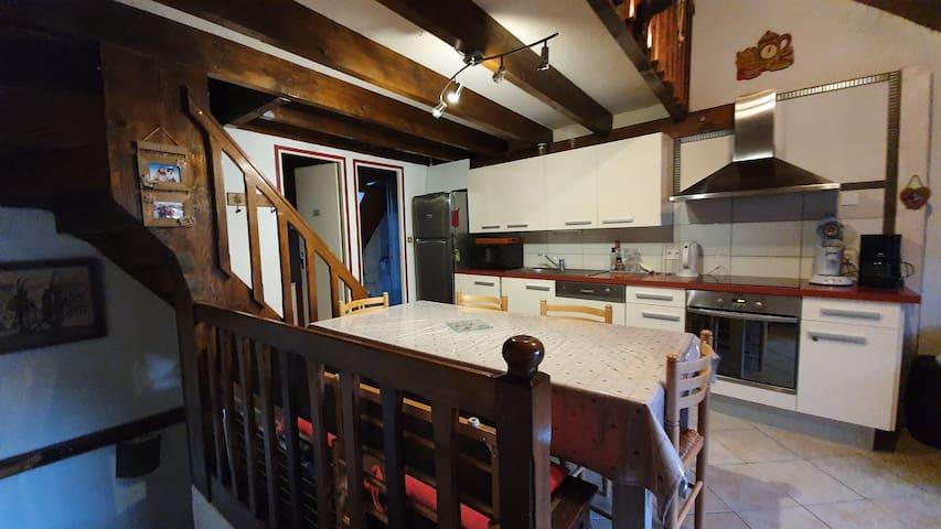 Superbe appartement chaleureux  style montagnard