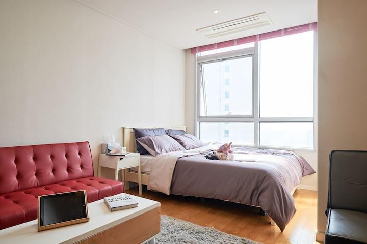 Modern Nest Central Seoul (Samgakji-Yongsan) - Yongsan-gu - Apartament