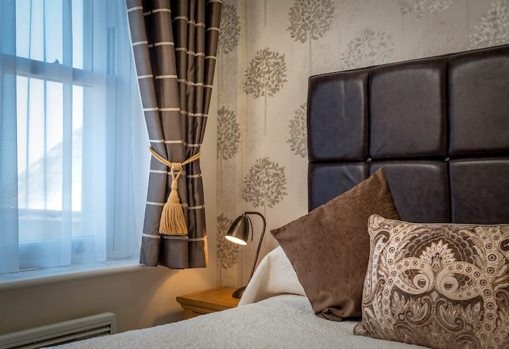 Inland Double Room at the Premier AA Four Star Langham Hotel Eastbourne