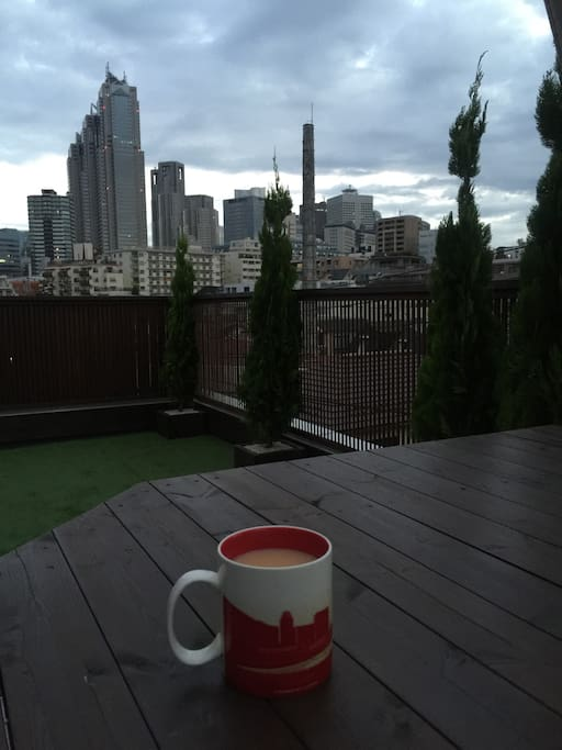 View from the roof (tea not included)