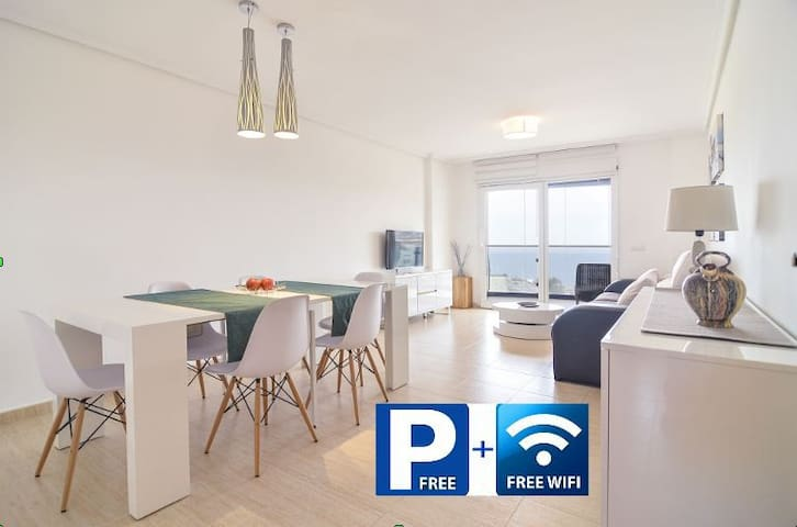 Apartamento luminoso con vistas al mar - Calp - Appartement en résidence