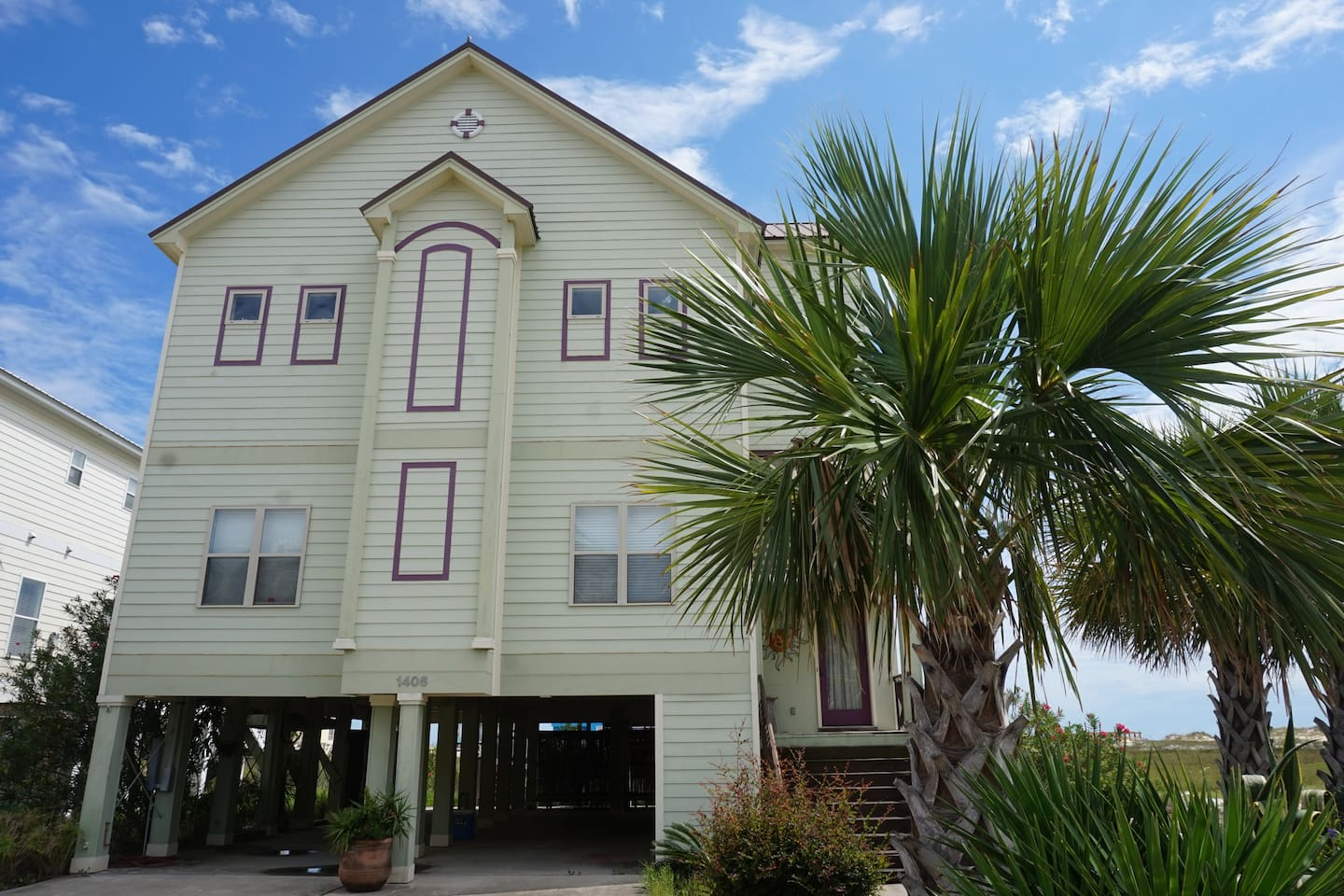 Outside View Of Our Three Story Vacation Home In Fort Morgan