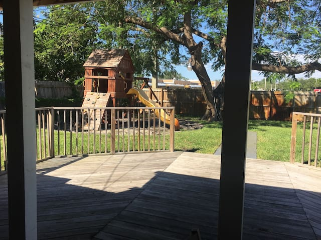 3b/2b Home with PLAYGROUND & FIRE PIT in backyard!
