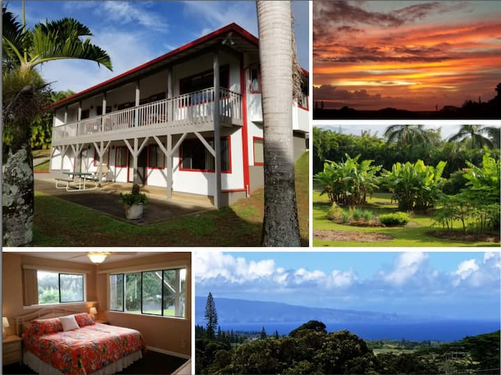 Private Apartment, Quiet, Ocean View, AC, Hana Hwy