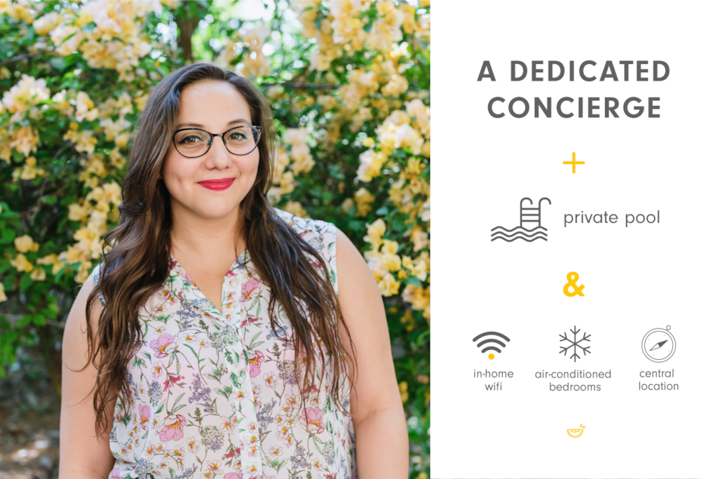 A dedicated concierge to help you settle in