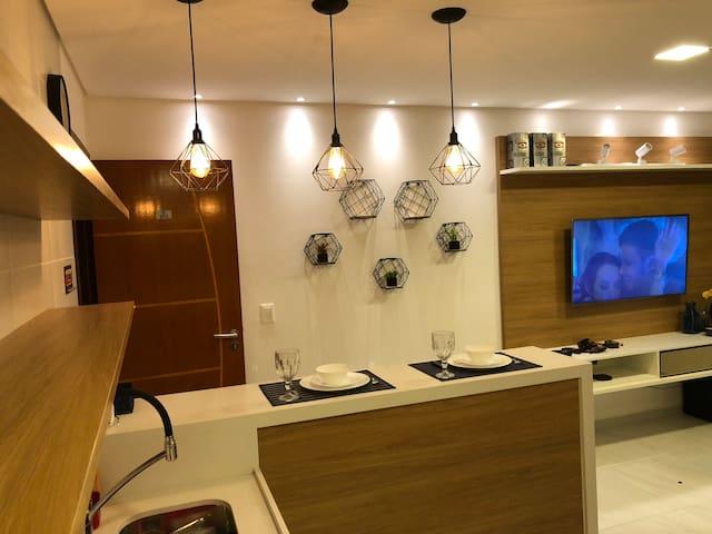 Apartamento 30m da Praia no Bessa em  Joao Pessoa