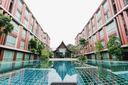 The resort in town of Chiang Mai
