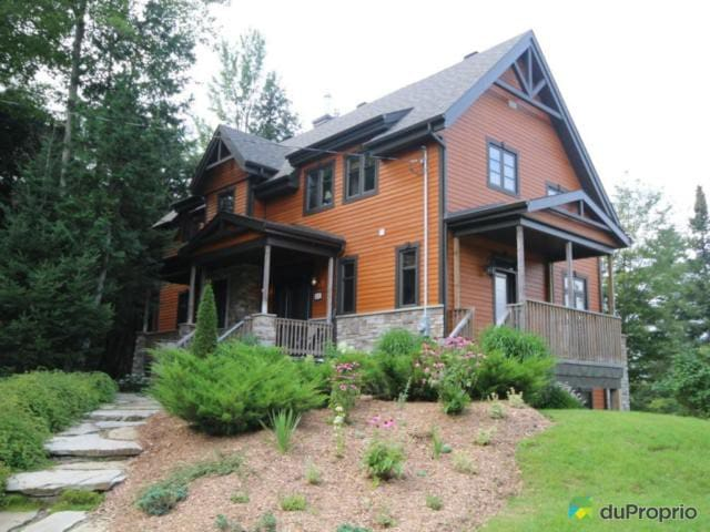 Family Chalet - Lakeside in Eastern Townships - Bolton-Est - Hus