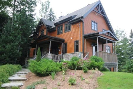 Family Chalet - Lakeside in Eastern Townships - Bolton-Est - Casa