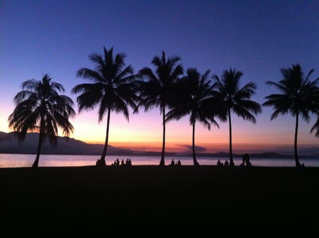 Sunset at Rex Smeal Park