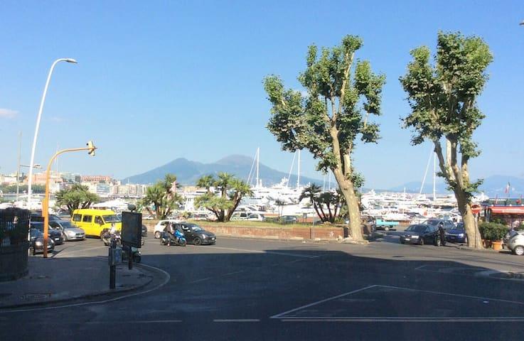Two-room flat vista Vesuvius