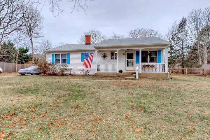 Great Ranch Style Home In Edgartown W/ Gas Grill & Big Front Yard