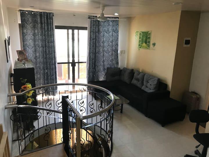 Privat sovrum 2 i Marias Hus i San Jose Del Monte