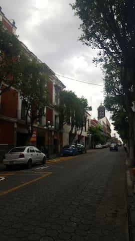 Departamento a pasos de Catedral - Puebla - Appartement en résidence