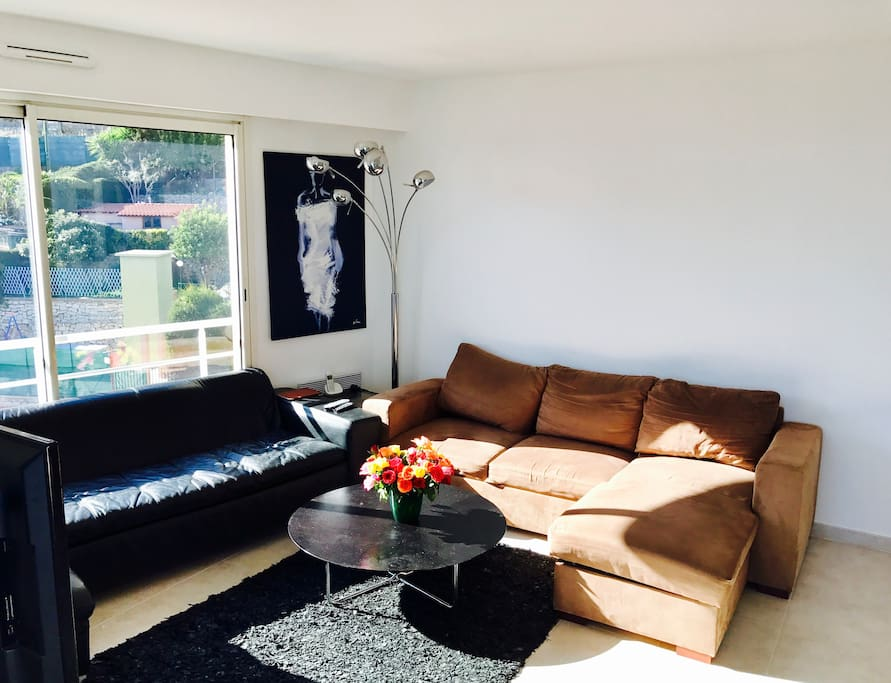 Living-room (sofa bed)