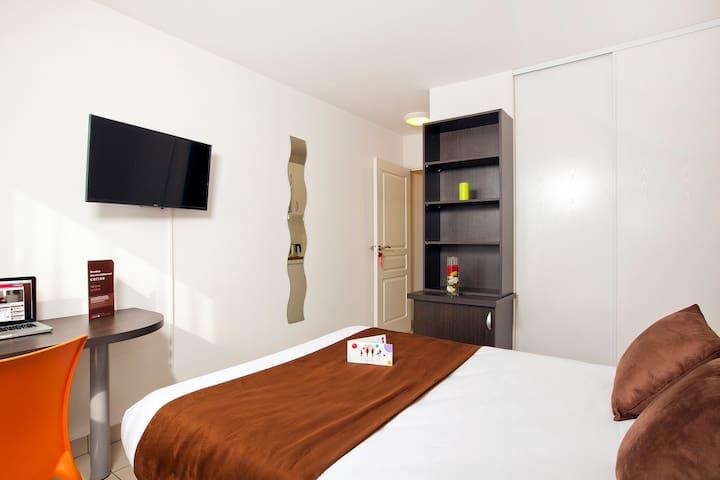 Studio lit double à Strasbourg - Strasbourg - Apartemen