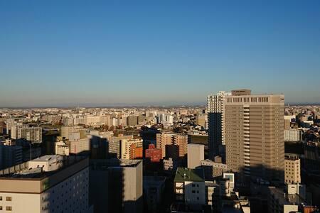 Great location & Free Wi-Fi ここから北海道の旅を始めよう!!