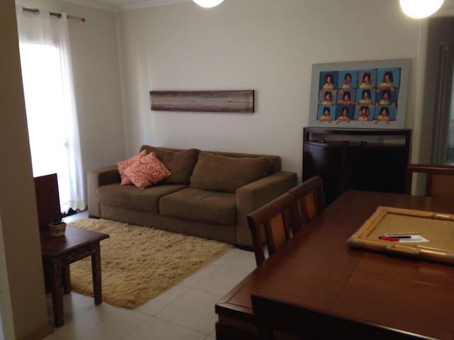 Apartamento completo região central - São Carlos - Apartemen