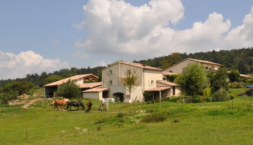 La bonnefontaine g te de charme avec piscine houses for Auvergne gites avec piscine