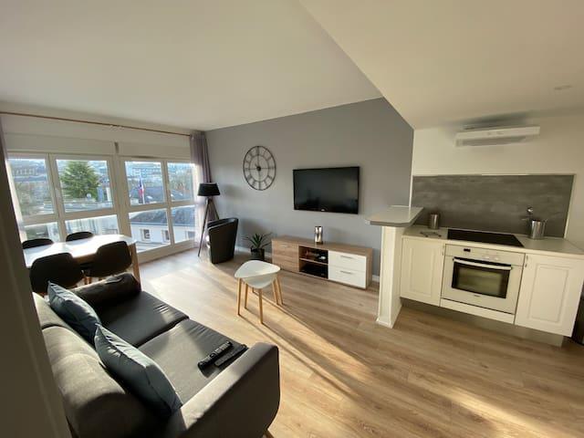 Un espace simple et agréable pour vous détendre!