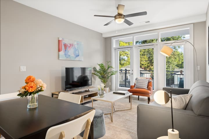 Kasa | Greenville | Stylish 2BD/2BA Apartment