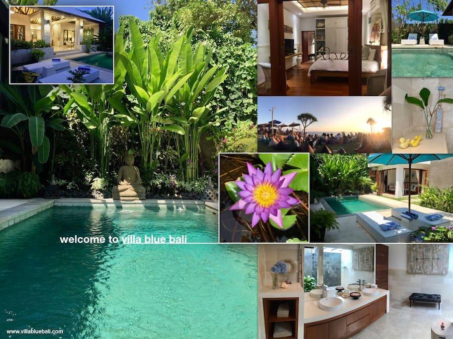 welcome to villa blue bali !