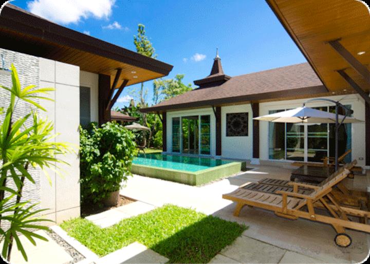 Phuket - Wonderful 3 double bed private pool villa