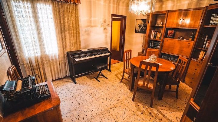 Casa Rústica y tranquilidad asegurada