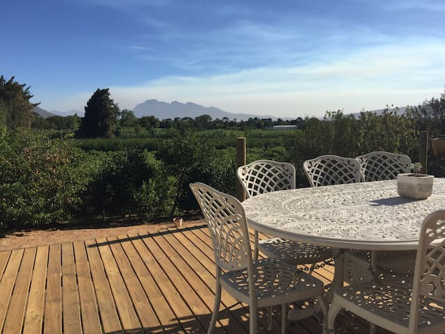 Cosy and Spacious Winelands Home - Paarl - Dom