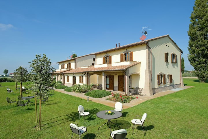 Scenic Villa in Cannara with Swimming pool