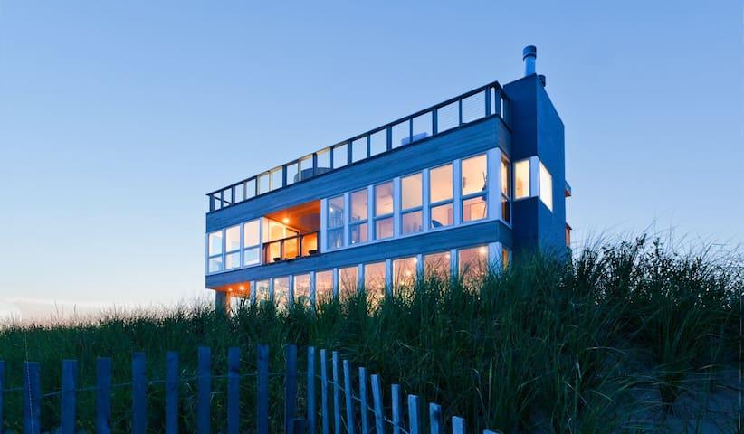 Modern Oceanfront Retreat