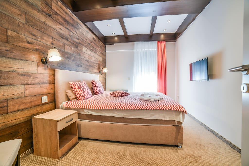Četvorokrevetni apartman, spavaća soba