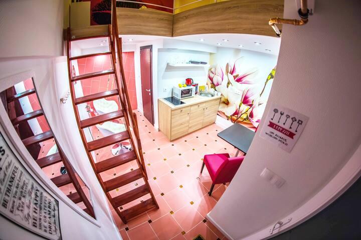 Centrum Treasure Wesselényi Apartment postcode1077