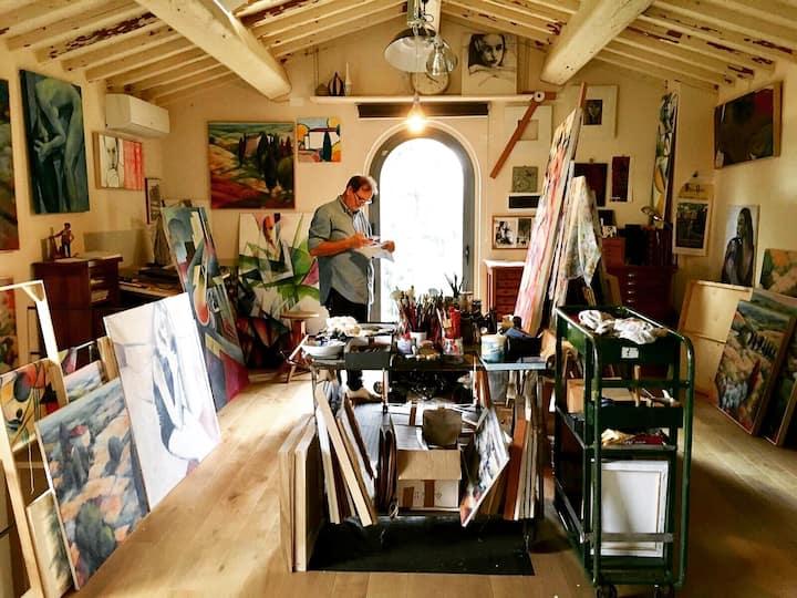 Tuscan House - The Artist's Hayloft