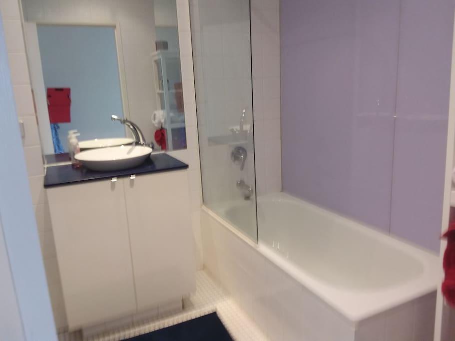 Private bathroom  (not ensuite)
