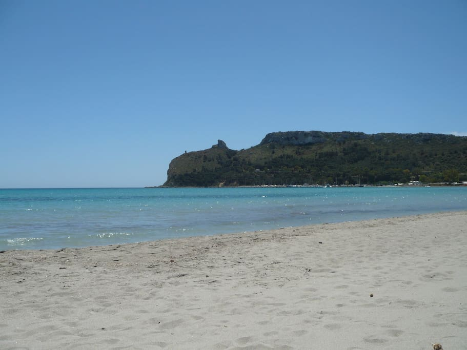 Beach in front house 200mt