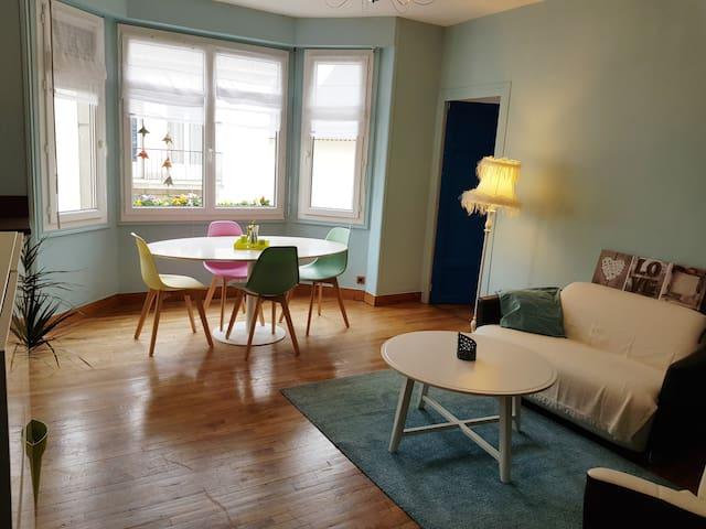 """Chambre """"Bourgogne"""" dans appartement Cœur de ville"""
