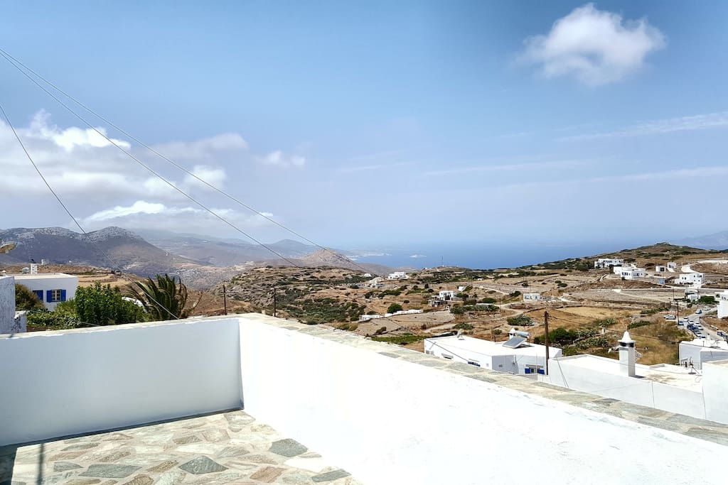 View of Chora from the balcony