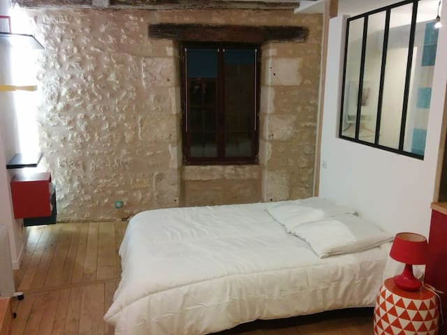 Studio *** in the heart of the medieval town
