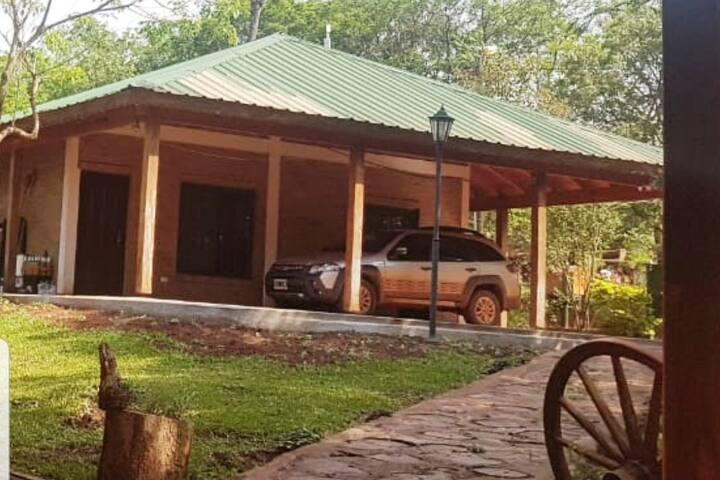 Loft para 4 personas en plena selva Misionera