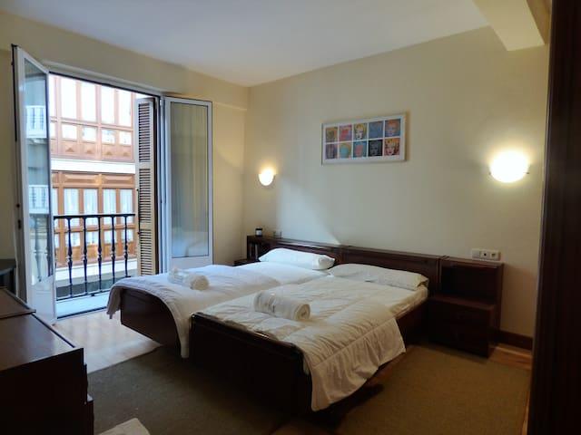 Bonito y espacioso piso a 5 min de la playa - Zarautz - House