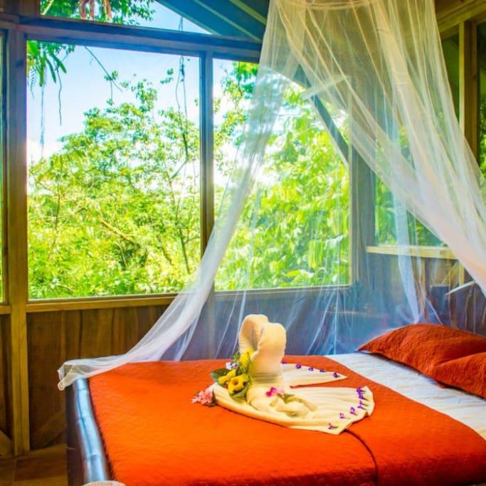 Bedroom at El Fenix