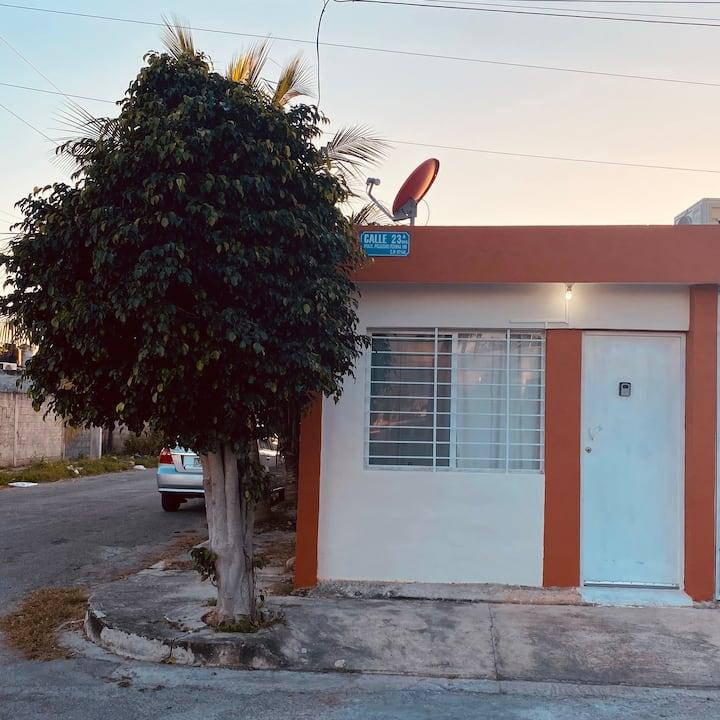 Casa pequeña en la ciudad de la paz