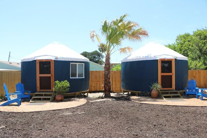 Camp Coyoacan Yurt #2