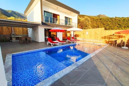 Havuzlu 2 Yatak Odalı Kiralık Villa