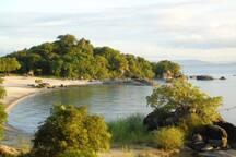 A beautiful private beach